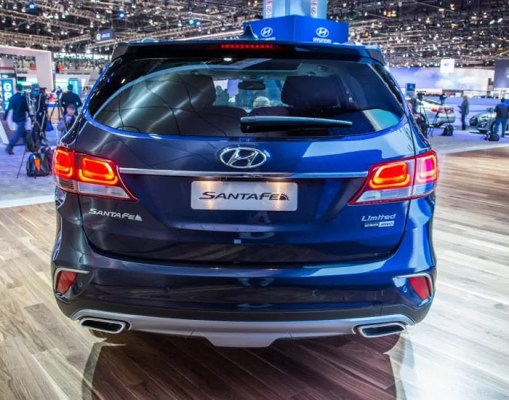 hyundai santa fe 2018. contemporary 2018 hyundaisantafe2018rear with hyundai santa fe 2018 i